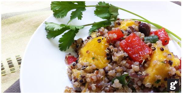 Mango quinoa