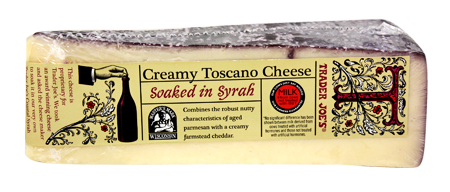 Image result for trader joe's cheese soaked in syrah