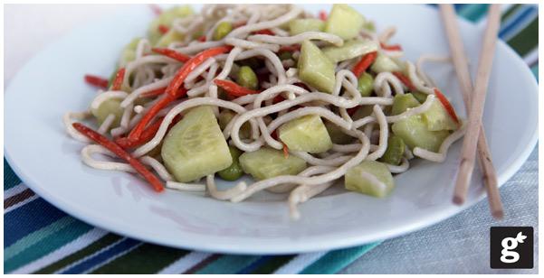 Wasabi Pasta Salad