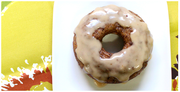 Trader Joe's Pumpkin Glazed Donut