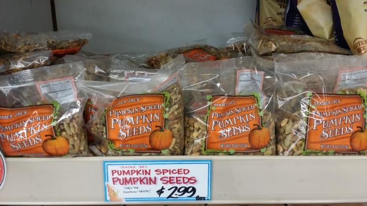 Trader Joe's Pumpkin Spice Pumpkin Seeds