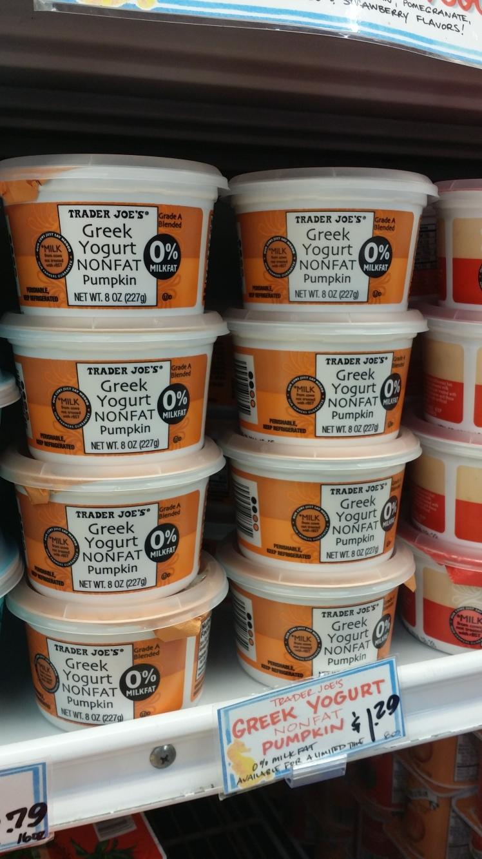 Trader Joe's Pumpkin Greek Yogurt.jpg