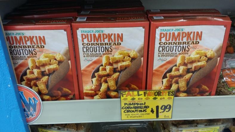 Trader Joe's Pumpkin CornBread Croutons