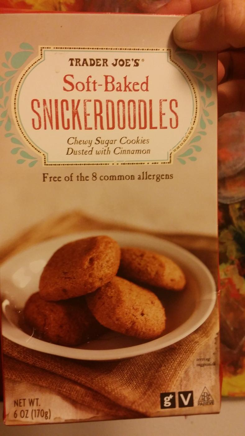 Trader Joe's Snickerdoodle Cookies