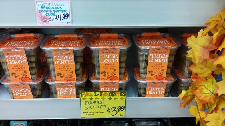 Trader Joe's Pumpkin Biscotti's