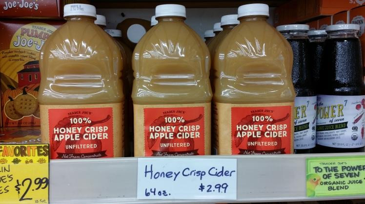 TJ's Honey Crisp Cider