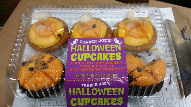 Trader joe's Halloween Cupcakes