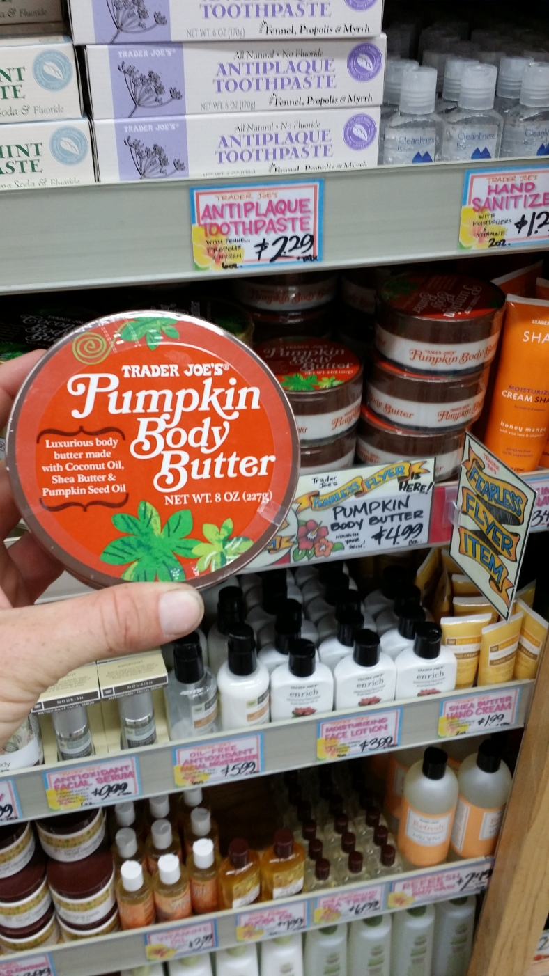 Trader Joe's Pumpkin Body Butter