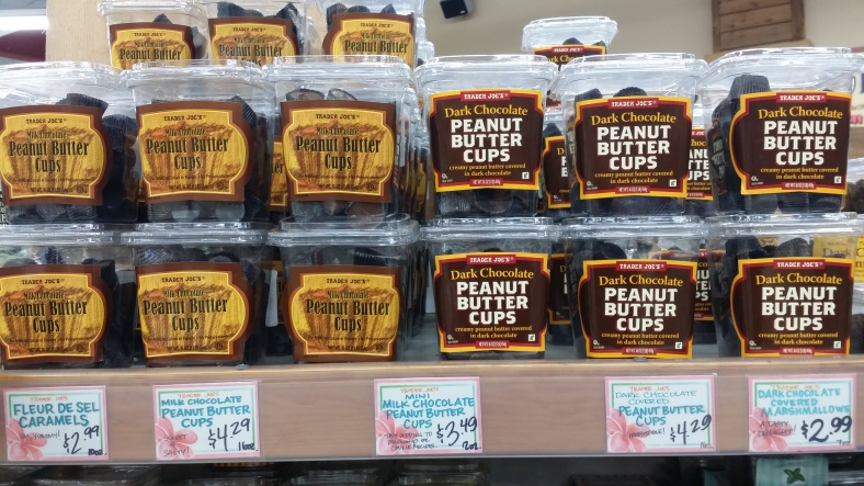 Trader Joe's Milk & Dark Chocolate Peanut Butter Cups