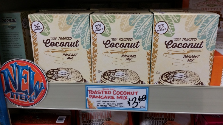 Trader Joe's Toasted Coconut Pancake Mix