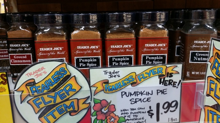 Trader Joe's Pumpkin Pie Spice