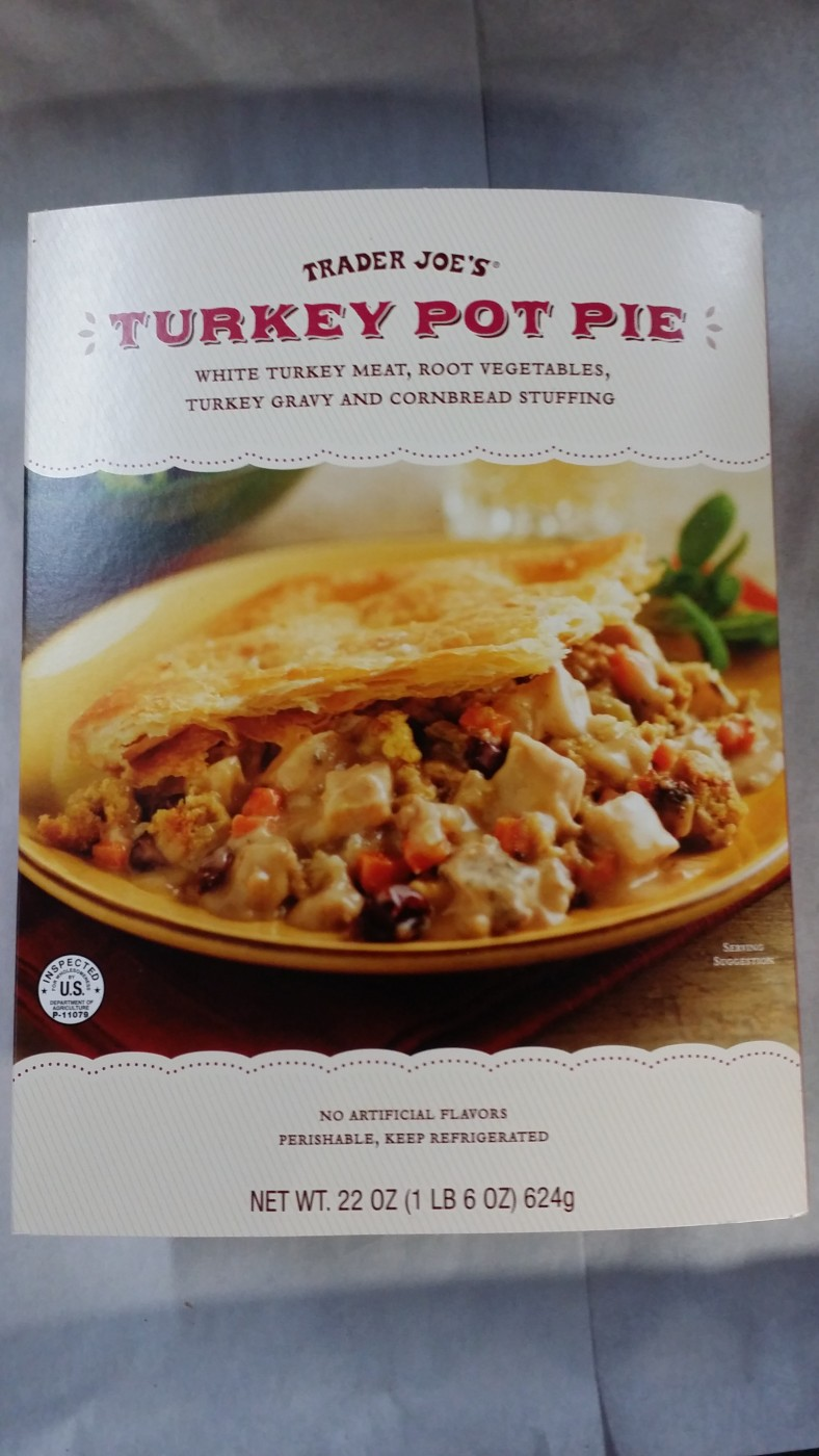 Trader Joe's Turkey Pot Pie