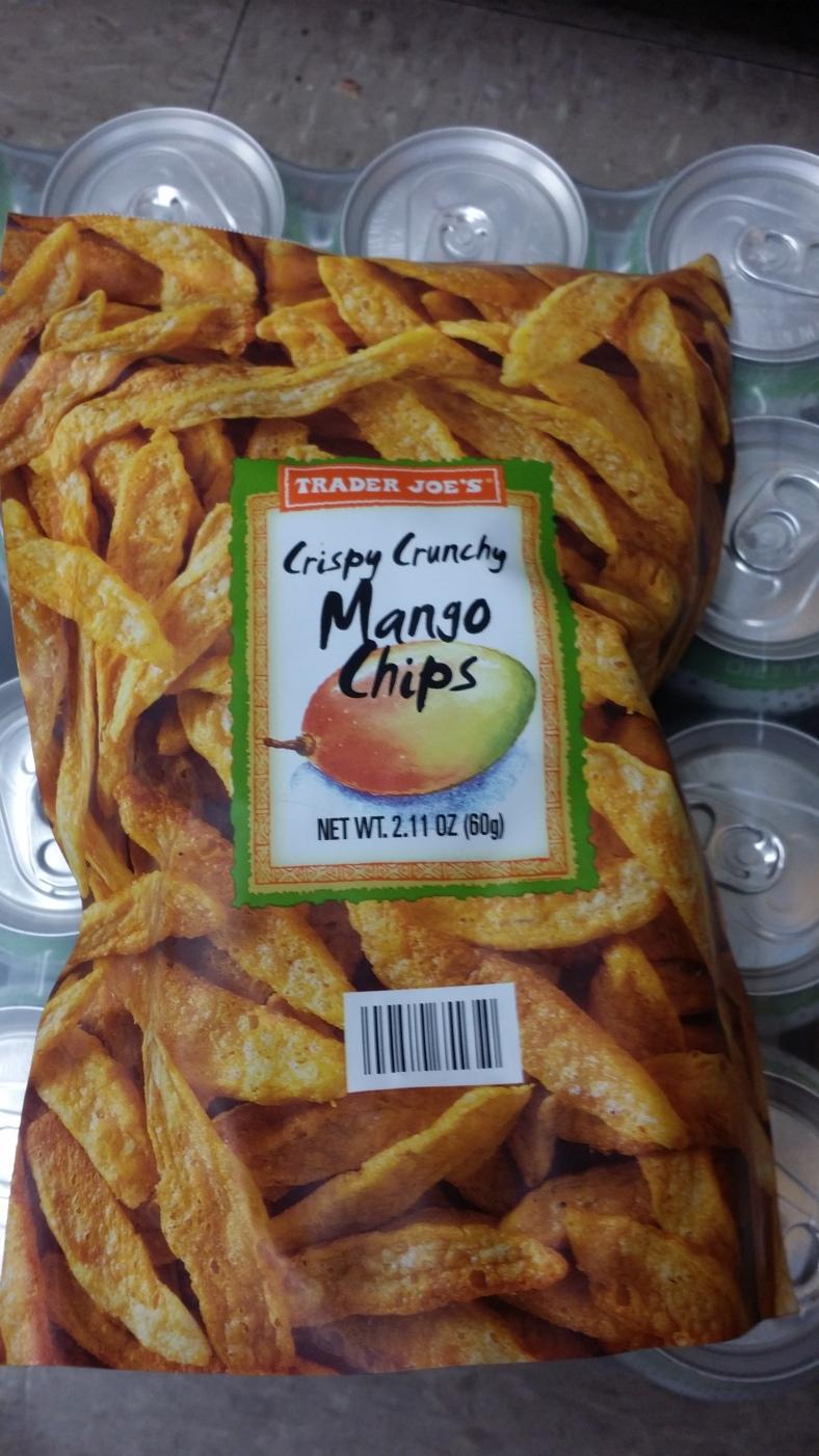Trader Joe's Crispy Crunchy Mango Chips