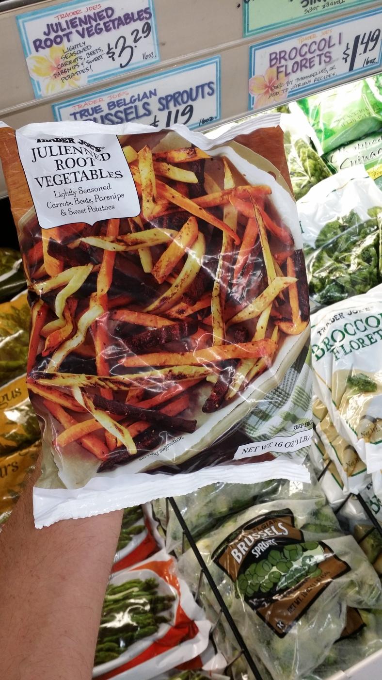 Trader Joe's Julienned Root Vegetables