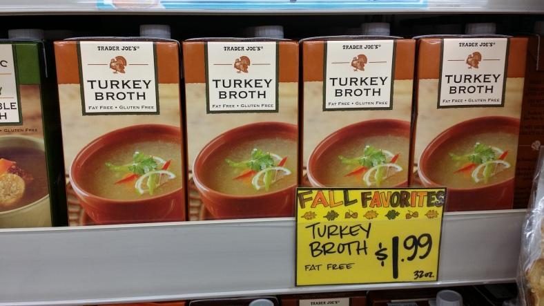 Trader Joe's Turkey Broth