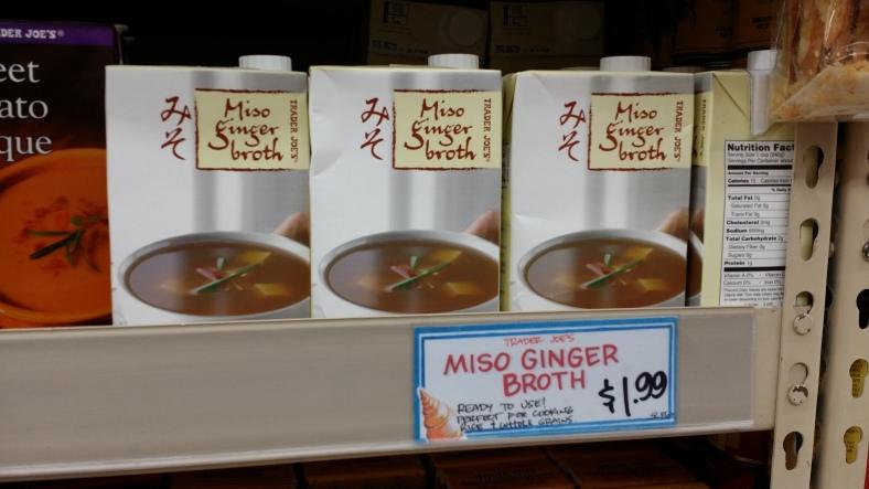 Trader Joe's Miso Ginger Soup