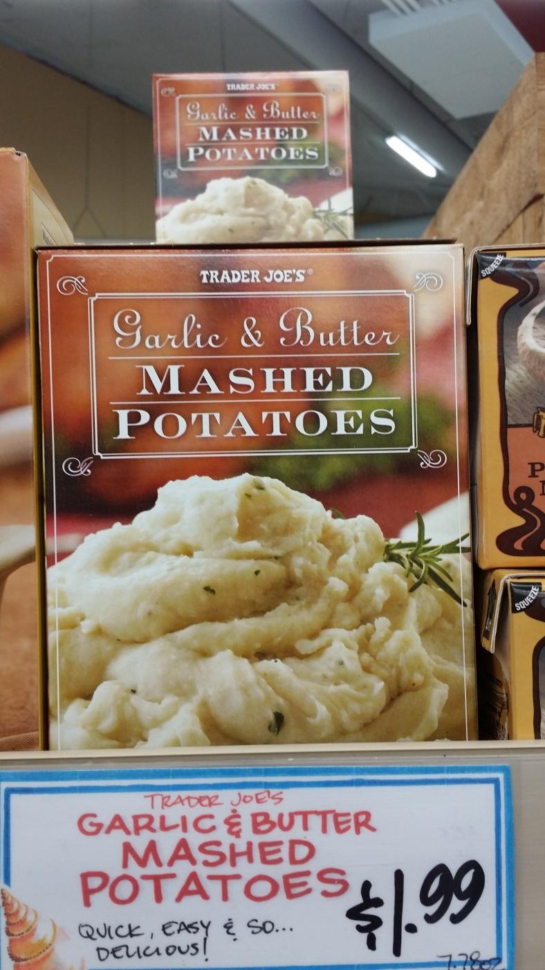 Trader Joe's Boxed Mashed Potatoes