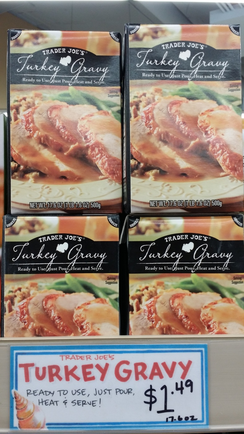 Trader Joe's Turkey Gravy
