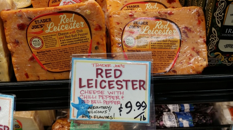 Red Leicester Chilli & Pepper Infused Cheese