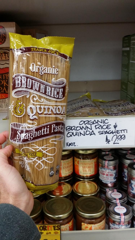 Trader Joe's Brown Rice & Quinoa Spaghetti