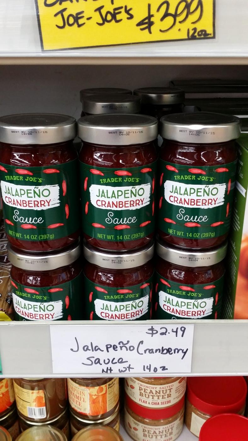 Trader Joe's Jalapeno Cranberry Sauce
