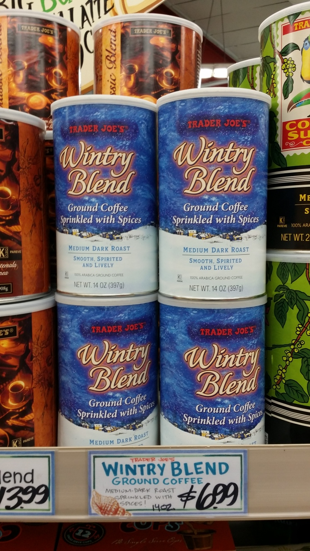 Trader Joe's Winter Blend Coffee