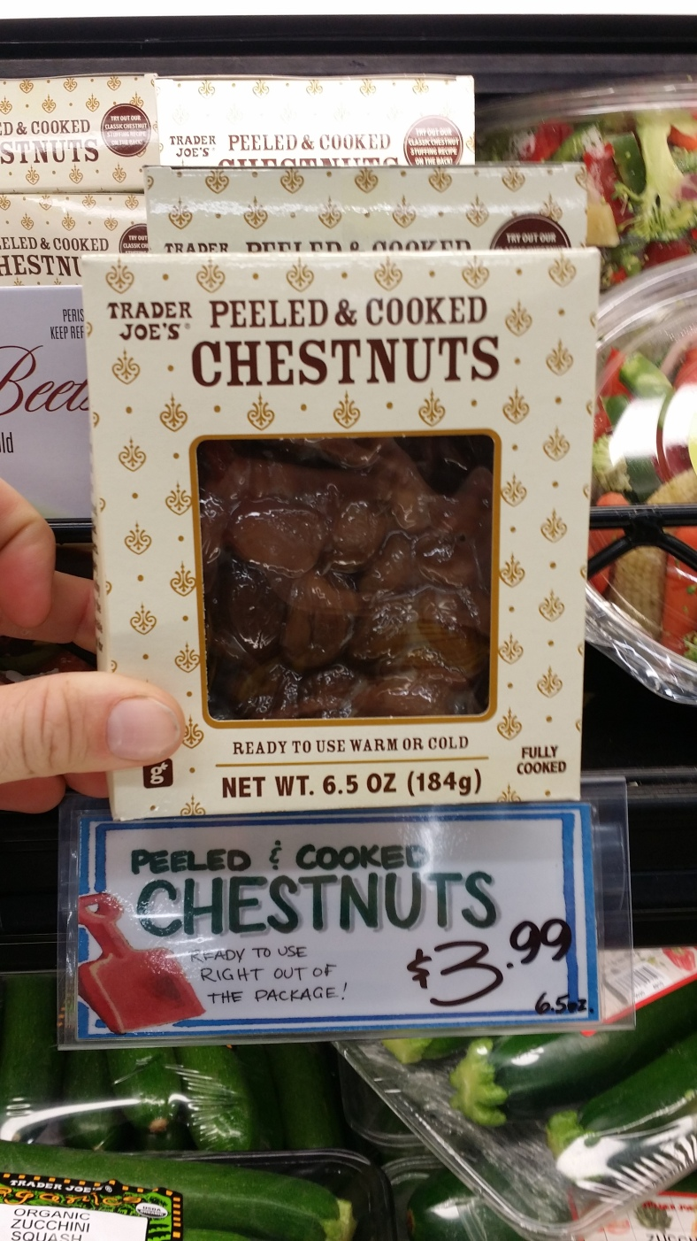 Trader Joe's Peeled And Cooked Chestnuts