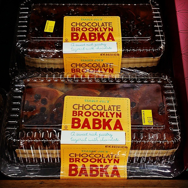 Trader Joe's Chocolate Babka Pastry