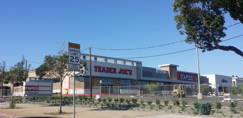 New location for Pacific Beach Trader Joe's