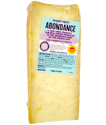 Trader Joe's Abondance Cheese