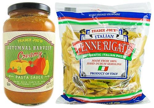 Trader Joe's Autumnal Harvest Pasta Sauce