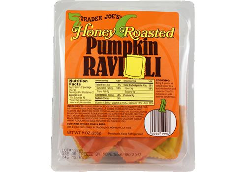 Trader Joe's Honey Roasted Pumpkin Ravioli