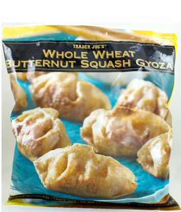 Trader Joe's Whole Wheat Butternut Squash Gyoza