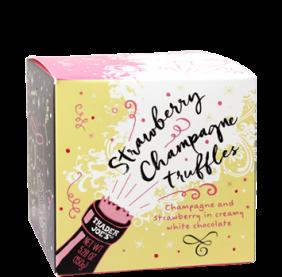 Strawberry Champagne Truffles