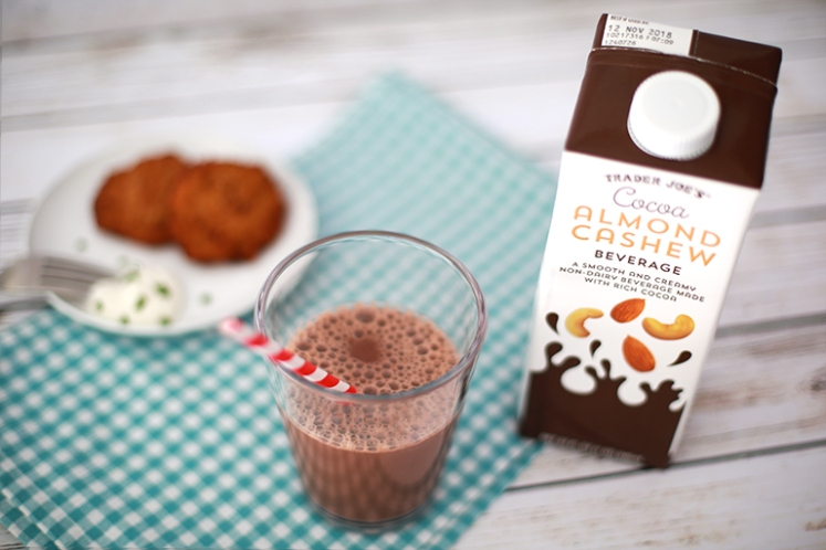 Trader Joes Cocoa Almond Cashew Beverage
