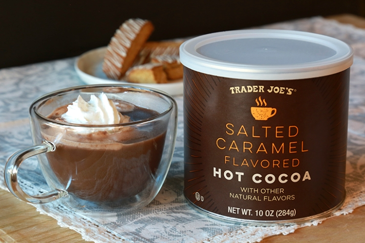 Trader Joes Salted Caramel Flavored Hot Cocoa